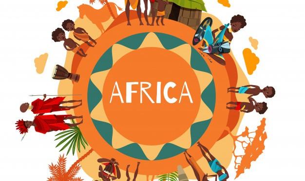 Symboles de la culture africaine